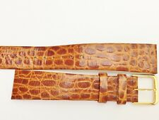 NEW LASSALE CAV042BND (by Seiko) MEN'S 18MM TAN CALF LEATHER WATCH BAND