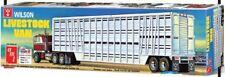 Wilson Livestock Van Trailer 1/25 AMT Models 1109 Plastic Model Kit