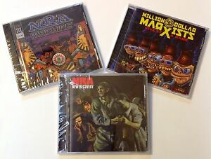 LOT 3 CDs Punk NRA Machine New Recovery Million Dollar Marxists Give it a Name