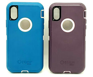 "Open Box Rugged Case by Otterbox Defender for 5.8"" iPhone XS & iPhone X Colors*"