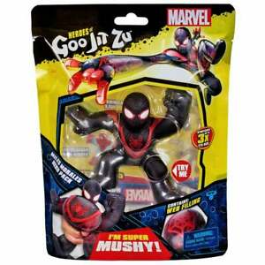 Heroes of Goo Jit Zu Marvel DC Superheroes - Super Mushy Miles Morales Figure