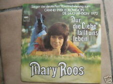 EUROVISION 1972 45 TOURS GERMANY MARY ROOS