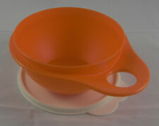 Tupperware Mini Maximilian 600 ml Bol rührschüssel Orange/Blanc NOUVEAU OVP