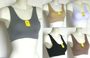 Brassiere Reggiseno Microfibra Top Sport Fitness BIXTRA B127A Tg M/L  XL/XXL