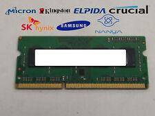 Major Brand 4 GB DDR3-1866 PC3L-14900S 1Rx8 1.35V SO-DIMM Laptop RAM
