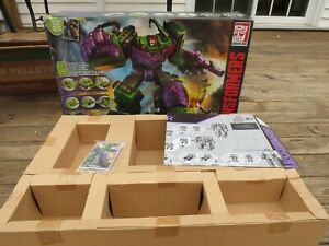 Hasbro Transformers Combiner Wars Devastator Voyager Class 6 Constructicons Used