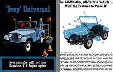Jeep 1966 - 'Jeep' Universal - Now available with hot new Dauntless V-6 Engine o