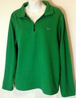 Vineyard Vines Womens Sz S Pull Over Long Sleeve 1/4 Zip Top Sweater Mint Green