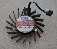 1PCS ATI T127010DH graphics card fan diameter 65mm hole distance 40mm 12V 0.35A