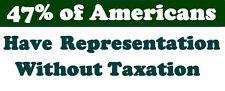 GOP Conservative Anti Democrat Anti Liberal Bumper Sticker Funny