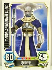 Mandalorian Royal Guard  #031 - Force Attax Serie 3
