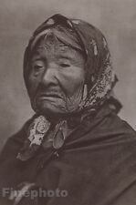 1900/72 Photogravure NATIVE AMERICAN INDIAN Suguamish Princess Art CURTIS 11x14