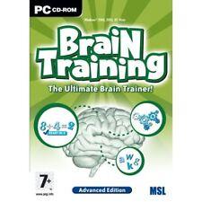 Entrenamiento Cerebral-Advanced Edition-Pc Cd Xp Vista Nuevo