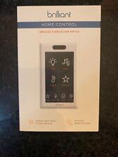 BRILLIANT SMART HOME CONTROL CONTROL SINGLE SWITCH