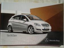 Mercedes B Class brochure Dec 2010