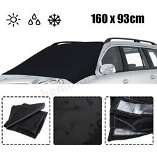 Car Magnetic Windshield Screen Cover Sun Snow Ice Glass Protector Black Shield