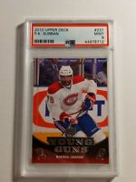 2010 Upper Deck Young Guns #231 P.K. PK Subban RC Rookie PSA 9 Mint