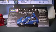 Revell 8501 Bugatti EB 110 Collectors model like Jouef Norev le Mans 1994 ? 1/43