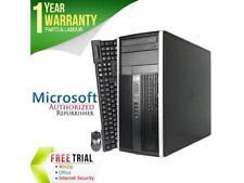 HP Desktop Computer Elite 8300 Intel Core i7 3rd Gen 3770 (3.40 GHz) 8 GB DDR3 1