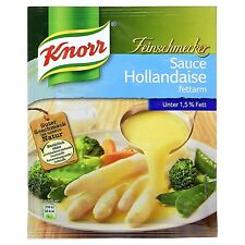 Ten (10) bags Knorr Gourmet Sauce Hollandaise Sauce Low fat 1.5% NEW