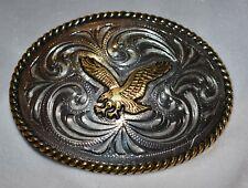 Western Belt Buckle Patriotic American Eagle