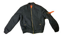 Jagermeister Men's Bomber quilted Lined Jacket Size XL