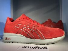 "ASICS x RONNIE FIEG GT II ""SUPER RED"" GT2 size 9.5 Kith Rare Great Condition"