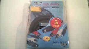 CAVO AUDIO/VIDEO DA  SPINA S-VHS A SPINA S-VHS 2 RCA/ 2 RCA JACK/JACK  843237