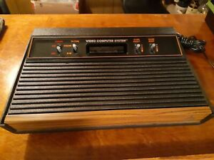 ATARI 2600 4 SWITCH VIDEO GAME WORKING CONSOLE  VG