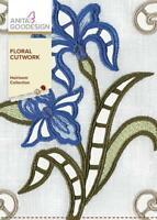 Floral Cutwork Anita Goodesign Embroidery Machine Design CD NEW 135AGHD