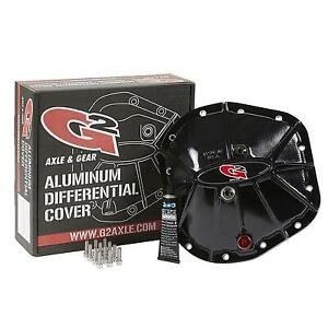 G2 Axle and Gear Ford 9.75in. Aluminum Cover Black 40-2012ALB