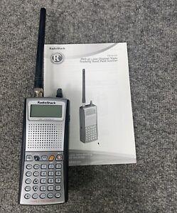 RADIO SHACK PRO-97 20-527 Triple Trunking Handheld Scanner W/Manual In EUC