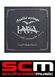 Aquila LAVA CONCERT LOW G Ukulele Strings Uke String Set AQ 113U