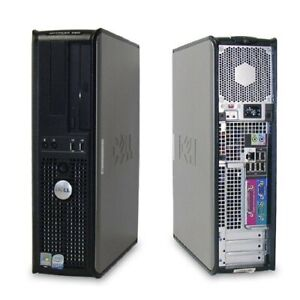 PC fisso Dell Optiplex 360 DT Pentium E5200 3gb Ram 80gb HDD Windows 10 wifi