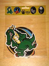Jerry Garcia Guitar Stickers Wolf Tiger Rosebud Alligator Grateful Dead may 1977