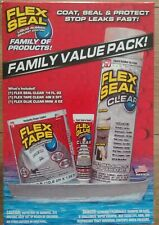 Flex Seal Clear Family Value Pack Flex Seal, Tape, & Glue Package 🌟New🌟