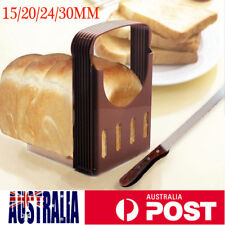 Bread Slicer Toast Sandwich Cutter Mold Maker Slicing Cutting Guide Kitchen
