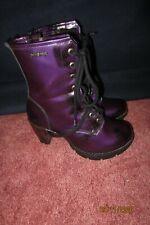 New Rock Damenstiefelette Absatz Boots Schuhe Gothic Lila Gr.38