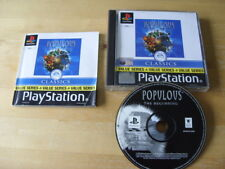 Populous: The Beginning (Sony PlayStation 1, 1999) - PS1 - Value Series