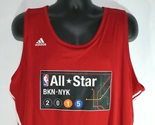 6eea52b4d Adidas NBA All Star Game 2015 New York Brooklyn Reversible Jersey Size 2XL