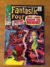 Fantastic Four #66 1967 1st Cocoon (HIM -> Warlock) Kirby Lee HOT Silver Movie