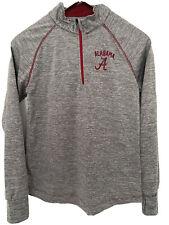 New listing University of Alabama Long Sleeve 1/4 Zip Golf Gray Womens Sz Small