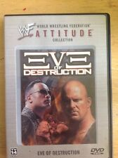 WWF - Eve of Destruction (DVD, 2002) Authentic US Release Scratch Free