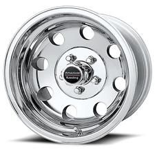 "15x8"" American Racing Polished Baja Wheel 5-5.5"