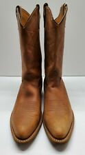New Vintage Cowboy Work Boots Men's Western Size 10 Leather Usa