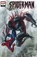 Spider-Man 1 Marvel Lucio Parrillo Trade Variant JJ Abrams Cadaverous