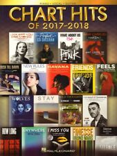Chart Hits 2017-2018 Songbook 18 aktuelle Pop Songs Noten Klavier Gitarre Gesang
