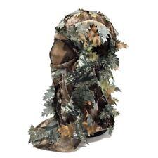 Camo Balaclava Veil Face Camouflage Head Mask Net Pigeon Shooting Leaf Ghillie