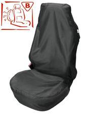 Universel Noir Housse Siège Voiture Protecteur Avant ajustement facile Airbag sécurité imperméable