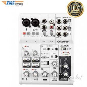 YAMAHA AG06 Portable USB Powered 6 Channel portable Recording Mixer IOS/MAC/PC